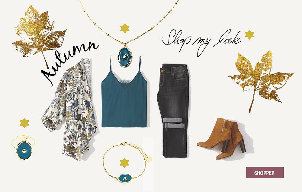 Colorez votre automne avec une jolie sélection de bijoux acier et émail chez Chabada Bijoux & Accessoires !