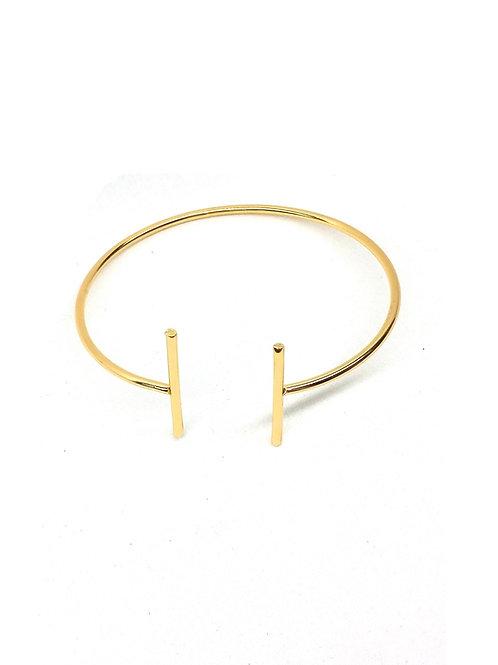 Bracelet charme doré