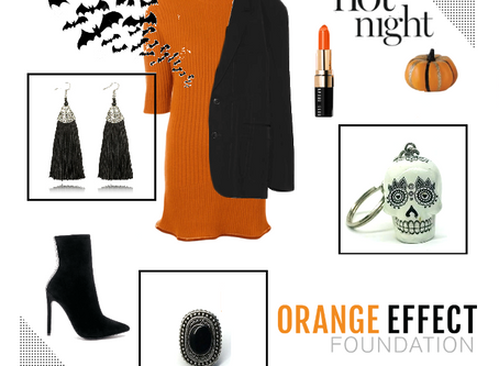 IDÉE LOOK 🎃 | ORANGE EFFECT  |🎃