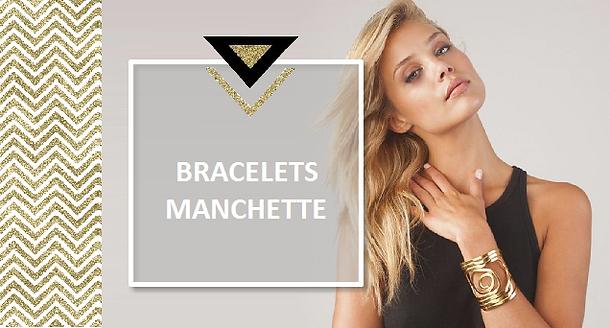 Pour les beaux jours, on adopte le bracelet manchette ! Un seul de ces bracelets vous habille. Choisissez une manchette en cuir ou en métal doré ou argenté qui mettra de la fantaisieà vos tenues printanières et estivales. Pour lui donner encore plus de caractère, craquez pour la manchette XXL.