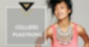 Qu'il soit sautoir, ras de cou ou pendentif le collier met en valeur tous les décolletés. Chabada Bijoux vous propose une large sélection de colliers originaux ou classiques, ethnique, vintage ou rock chic,chacund'eux feront une pièce maîtresse dans votre boîte à bijoux.