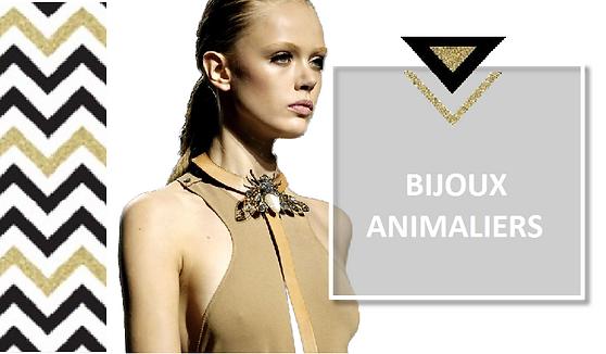 COLLECTION BIJOUX ANIMALIERS