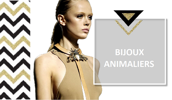 COLLECTION BIJOUX ANIMALIERS