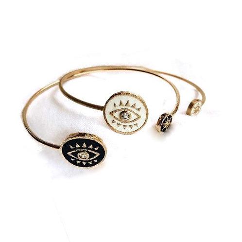 Bracelet porte bonheur contre mauvais œil