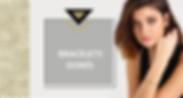 Le métal doré est utilisé pour confectionner des bijoux fantaisie très tendance. Un bracelet doré s'assorti facilement à une tenue sobre et chic et apportera de la féminité à votre look. Il est préférable d'assortir votre bracelet en métal doré à des boucles d'oreilles dorées ou un collier doré également pour un mariage plus réussi.