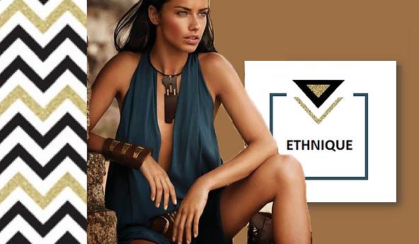 Ces bijoux et accessoires ethniques vous parent d'une allure d'aventurière. Colliers imposants plastrons, bracelets manchette, bouclex d'oreilles ethniques, sacs en daim, bagues avec pierre semi-précieuse. Il y en a pour tous les goûts.