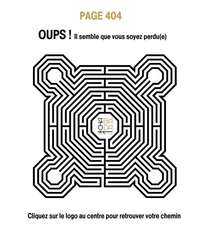 LABYRINTHE PAGE 404 CHABADA