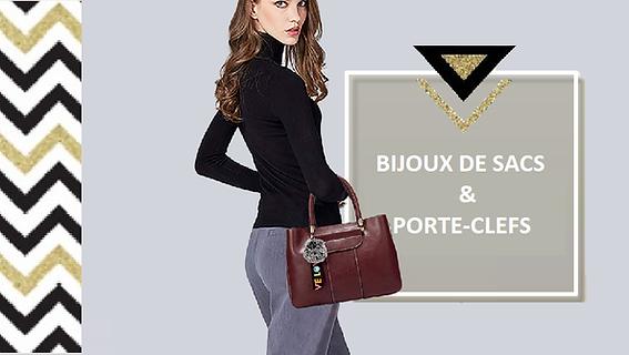  Pour accessoiriser votresac, et lui donner un look tendance, pensez au bijou de sac ! Ce même bijou peut être attaché à vos clefs, une bonne façon de vite les retrouver au fond du sac !