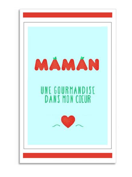 CHÈQUE CADEAU FÊTE DES MÈRES GOURMANDISE