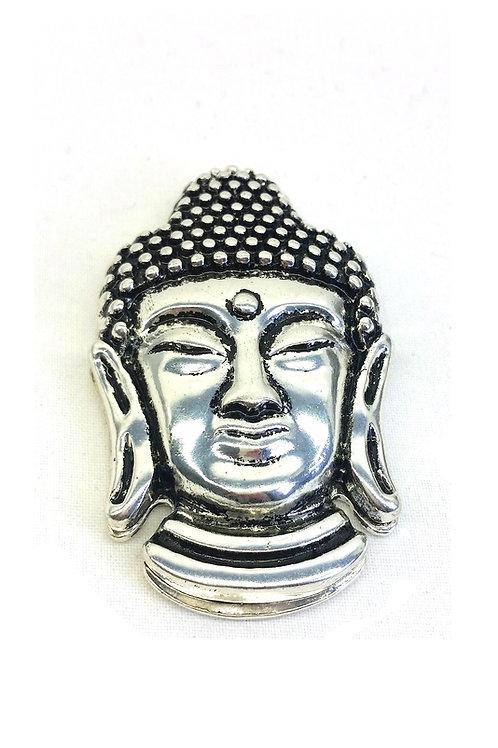 Broche aimantée représentant visage bouddha