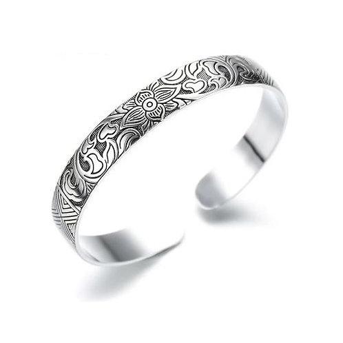 Bracelet bohème argenté
