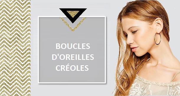 Indémodable ! La boucle d'oreille créole est le bijou intemporel qui s'adapte à tous les styles. Elle possède ce brin de légèreté qui en fait la parfaite alliée de la journée comme de la soirée.