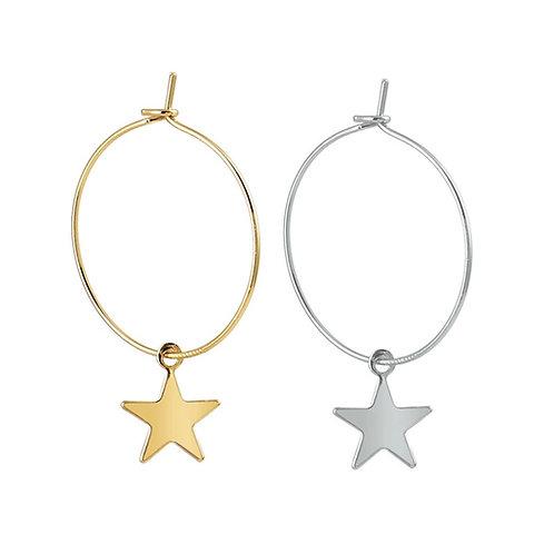 Créoles avec étoile