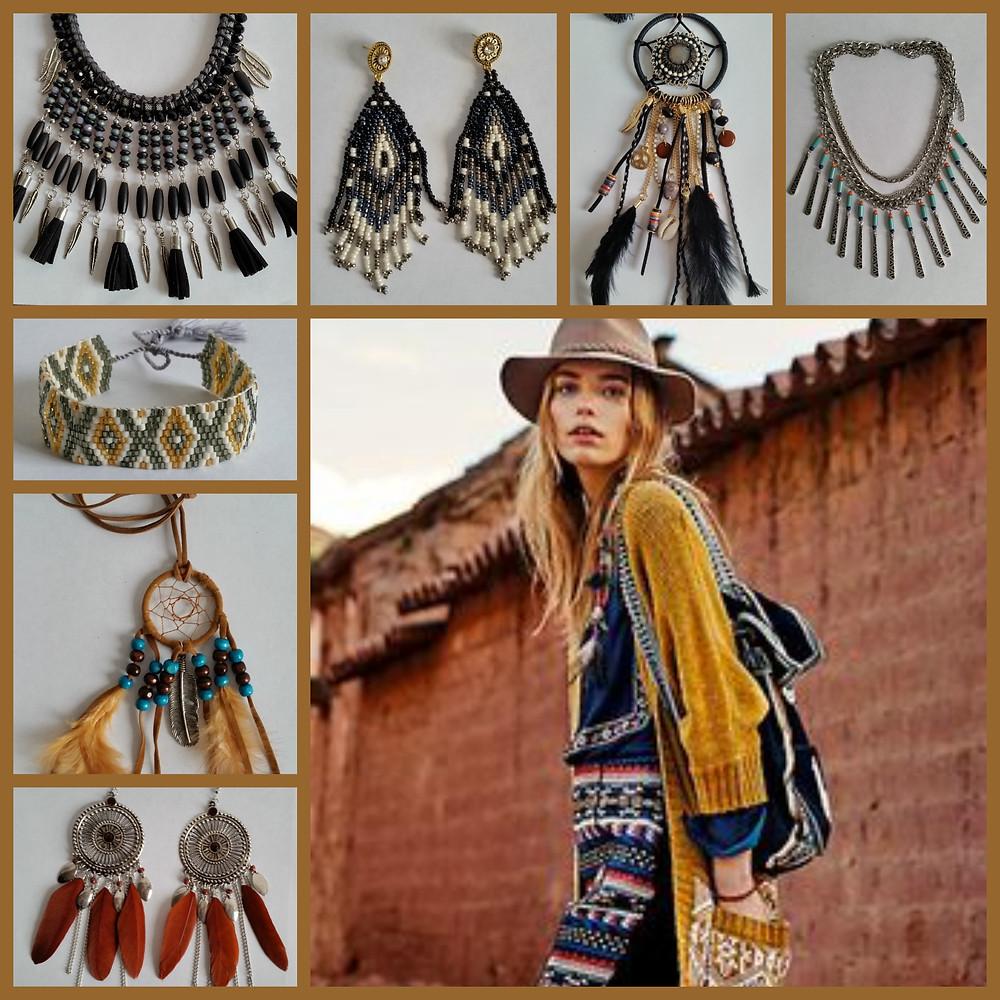 Les Bijoux Fantaisie Amérindiens