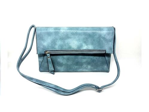 Petit sac grainé bleu clair