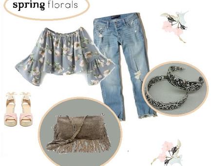 | IDÉE LOOK | SPRING FLORAL