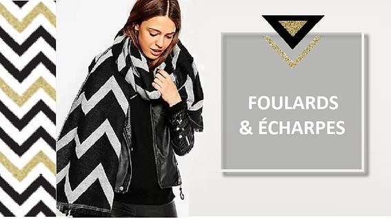 Multifonction et hautement mode, le foulard se porte autour du cou, sur la tête, noué à un sac,… Il colore, habille, accessoirise, bref il a tout bon !