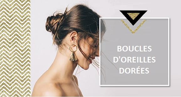 Les bijoux en métal doré sont extrêmement tendance cet été. Les boucles d'oreilles dorées illumineront votre visage hâlé cet été et lui donneront leteint éblouissant que beaucoup vous envieront.