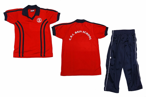 ID: SK2014 (Kids Collar Tshirt with Trackpant)