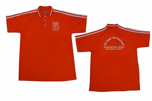 ID: ST2024 (Sports Collar Tshirt)