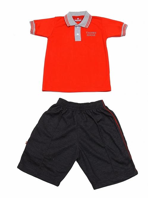 ID: SK2005 (Kids Collar Tshirt with Shorts)