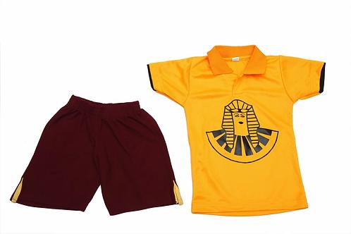ID: SK2021 (Sports Collar Tshirt with Shorts