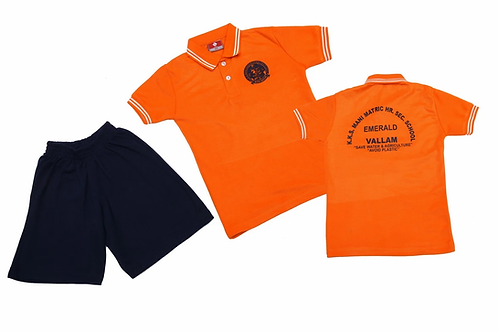 ID: SK2018 (Sports collar Tshirt with shorts)