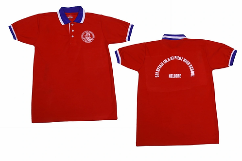 ID: ST2031 (Sports Collar Tshirt)