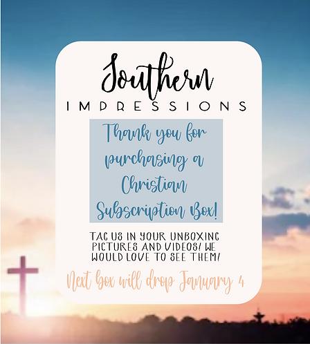 Christian Subscription Box