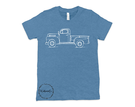 Sketch Vintage Truck-Youth