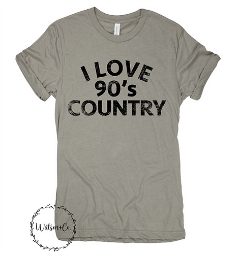 I love 90's Country