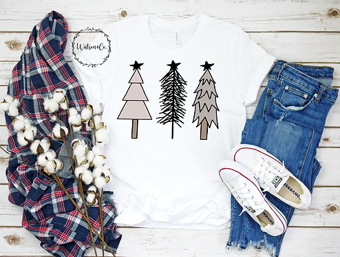 Sublimation-Christmas Trees