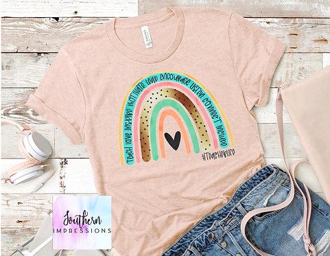 Teacher Life Rainbow