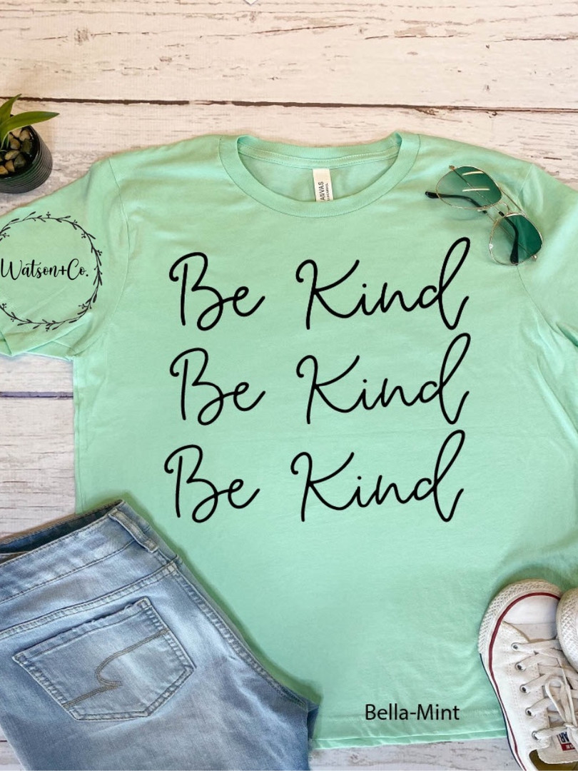 Be Kind x3