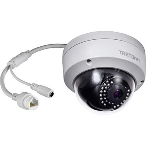 TRENDnet Indoor/Outdoor 1MP 720p PoE IR Dome Network Camera