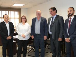 TJGO recebe adesão da Associação de Bancos para a Semana da Conciliação
