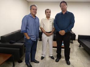 Secretário de Governo de Goiás recebe representantes da ASBAN
