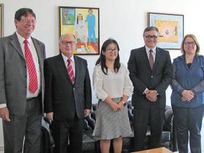 Representantes do Tribunal de Justiça do DF conhecem a 1ª CCM-CRCF