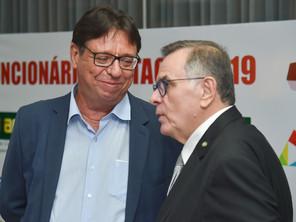 """O Presidente da ASBAN, Mário Queiroz participou do prestigiado evento """"Funcionário Destaque&quo"""