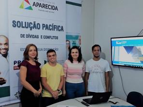 ASBAN Faz Treinamento para Equipe Jurídica do PROCON de Aparecida de Goiânia.
