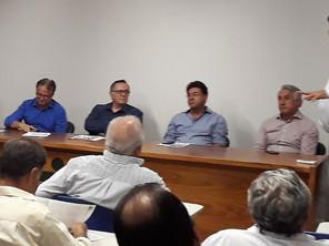 Presidente da ASBAN participa de reunião na ACIAG