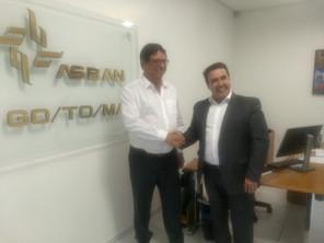 ASBAN recebe o Prefeito de Rio dos Índios - RS
