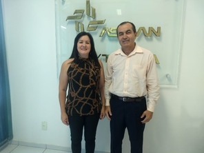 ASBAN recebe representante do Banco Bradesco