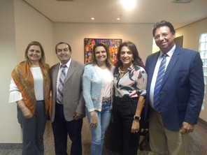 ASBAN é recebida pela Primeira-dama do Estado de Goiás, Sr.ª Gracinha Caiado