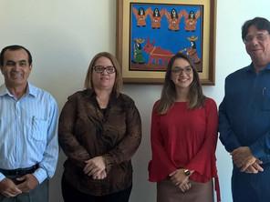 Integrante da área de Relações Governamentais e Institucionais do Itaú-Unibanco visita ASBAN