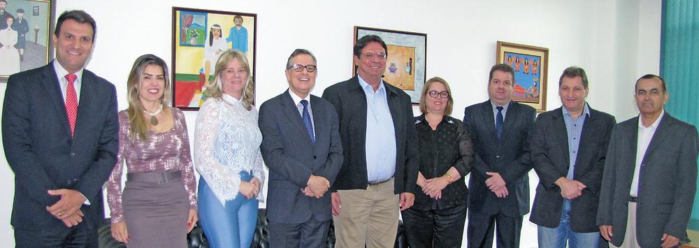 Representantes da ASBAN, SSPAP-GO e de instituições bancárias discutiram parcerias em prol da segurança pública