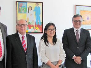 Visita de representantes do Tribunal de Justiça do Distrito Federal e dos Territórios (TJDFT)