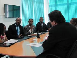 Presidente da  Agência Nacional de Promoção de Investimentos do Congo visita ASBAN