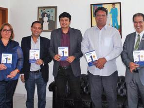 Asban recebe visita de membros do CRC-GO