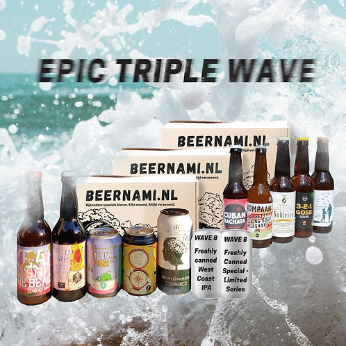 Epic Triple Wave (6+7+8)